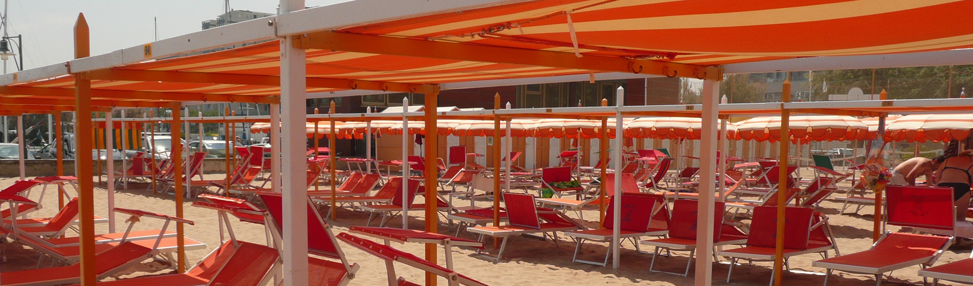 Spiaggia per famiglie, per bambini | Spiaggia 91 Riccione